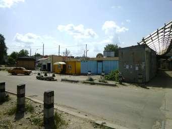 Хмельницкий базар после закрытия